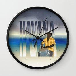 Havana Conguero Wall Clock