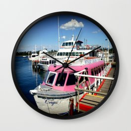 Think Pink! Wall Clock