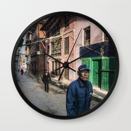 Patan Pierce Wall Clock
