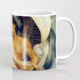 """Evelyn De Morgan """"Boreas And Orietyia"""" Coffee Mug"""