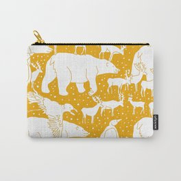 Polar gathering (orange juice) Carry-All Pouch