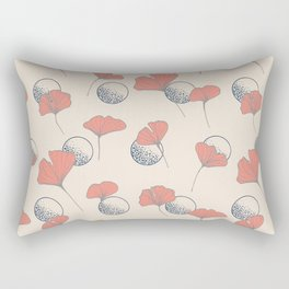 Delicate Ginkgo&Dots #society6 #decor #buyart Rectangular Pillow