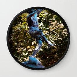 jardin Luxembourg Statue Wall Clock