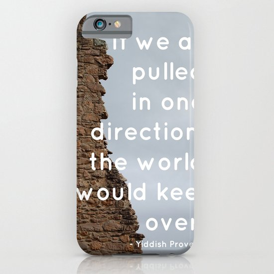 Go your own way iPhone & iPod Case