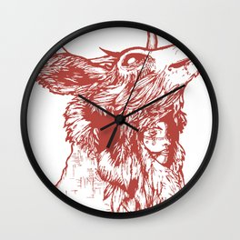 Last of Her Kind Wall Clock