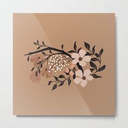 Nude Flowers Metal Print