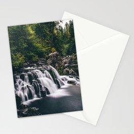 Sawmill Falls on Opal Creek, Oregon Stationery Cards