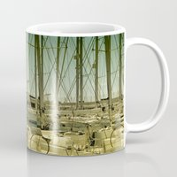 marina Mugs featuring marina by gzm_guvenc