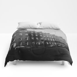 Dirty Old Town Comforters
