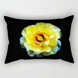 Blossom... (Yellow) Rectangular Pillow