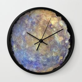 Blurry and Bright Mercury Wall Clock