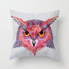 Owla owl Throw Pillow