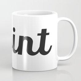 The simple point Coffee Mug