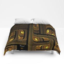 Hard-shipping Maze Comforters