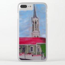 Kirche Schmatzhausen Niederbayern Clear iPhone Case