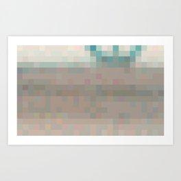 ABSTRACT PIXELS #0016 Art Print