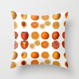 Fruit Attack Throw Pillow