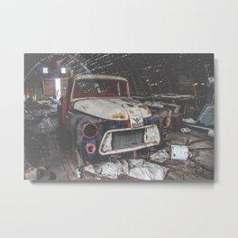Dodge V8 Metal Print