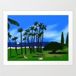 Hawaiian Holiday! Art Print