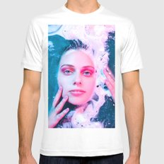 She Comes from the Sea White Mens Fitted Tee MEDIUM