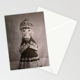 Chinese Vintage Doll Stationery Cards