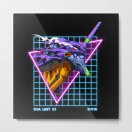 Eva Unit 01 Metal Print