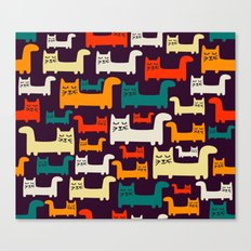 KItty-kitty-cat Canvas Print