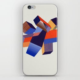 Geometric Painting by A. Mack iPhone Skin