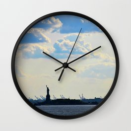 Silhouette Lady Wall Clock