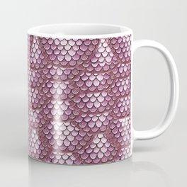 Dusty Rose Snake Skin Pattern Coffee Mug