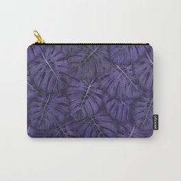 ULTRA VIOLET MONSTERA, by Frank-Joseph Carry-All Pouch