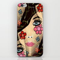 blossom iPhone & iPod Skins featuring Blossom by Sartoris ART