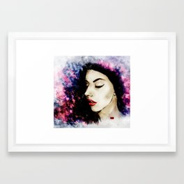 Pandie Framed Art Print
