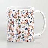 turtles Mugs featuring Turtles by luizavictoryaPatterns