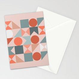 Mid Century Modern  Geometric 06 Stationery Cards