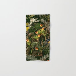 Floral and Birds XXXVI Hand & Bath Towel