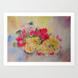 Garden's delight Art Print