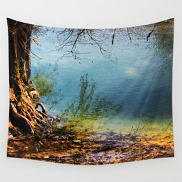 Where's The Waters Edge? Wall Tapestry