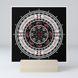 Bear Spirit (Black) Mini Art Print