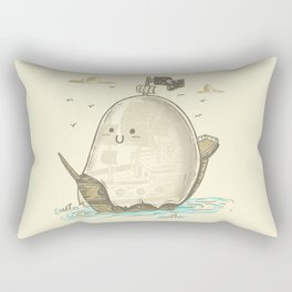 Ghost Ship Rectangular Pillow
