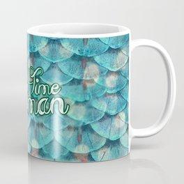 Part Time Merman Coffee Mug