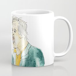 Gary Busey Eats a Peach Coffee Mug