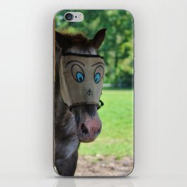 Funny Face iPhone Skin