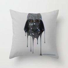 Darth Vader Melting Throw Pillow