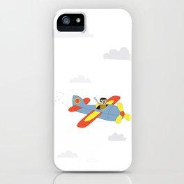 Plane Ride iPhone Case