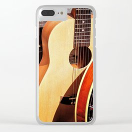 Strings Attached Clear iPhone Case