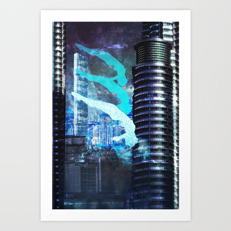 Ghost In The Shell Poster Art Print by Stevemmmmm PRN6505740
