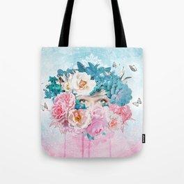FLORAL EVA Tote Bag