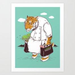 Kitchen Shopping Art Print