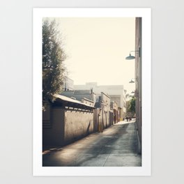 Friday Evening, Pasadena Art Print